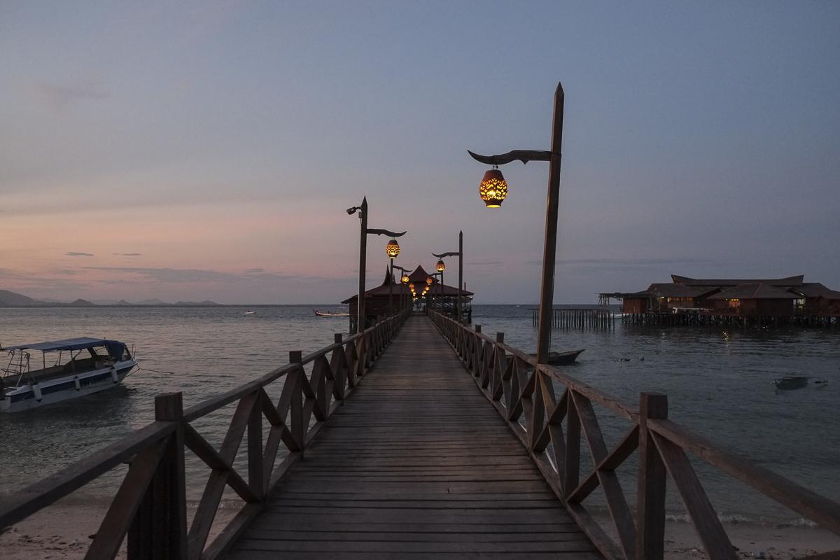 Mabul Beach Resort Pier