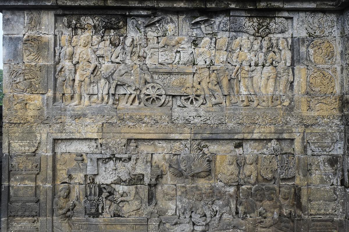 Borobudur Bas Relief Carvings