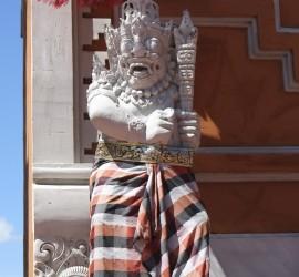 Bali Airport Statue