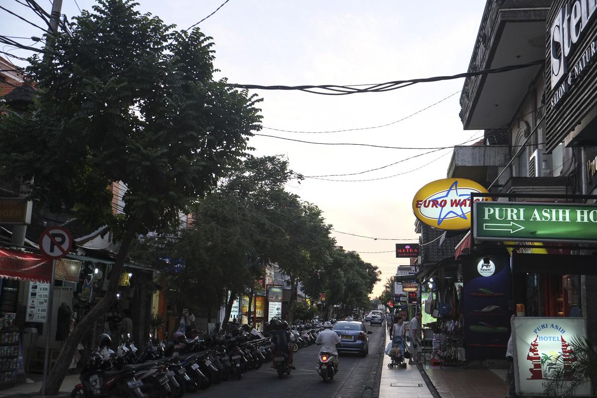 Kuta Streets Bali