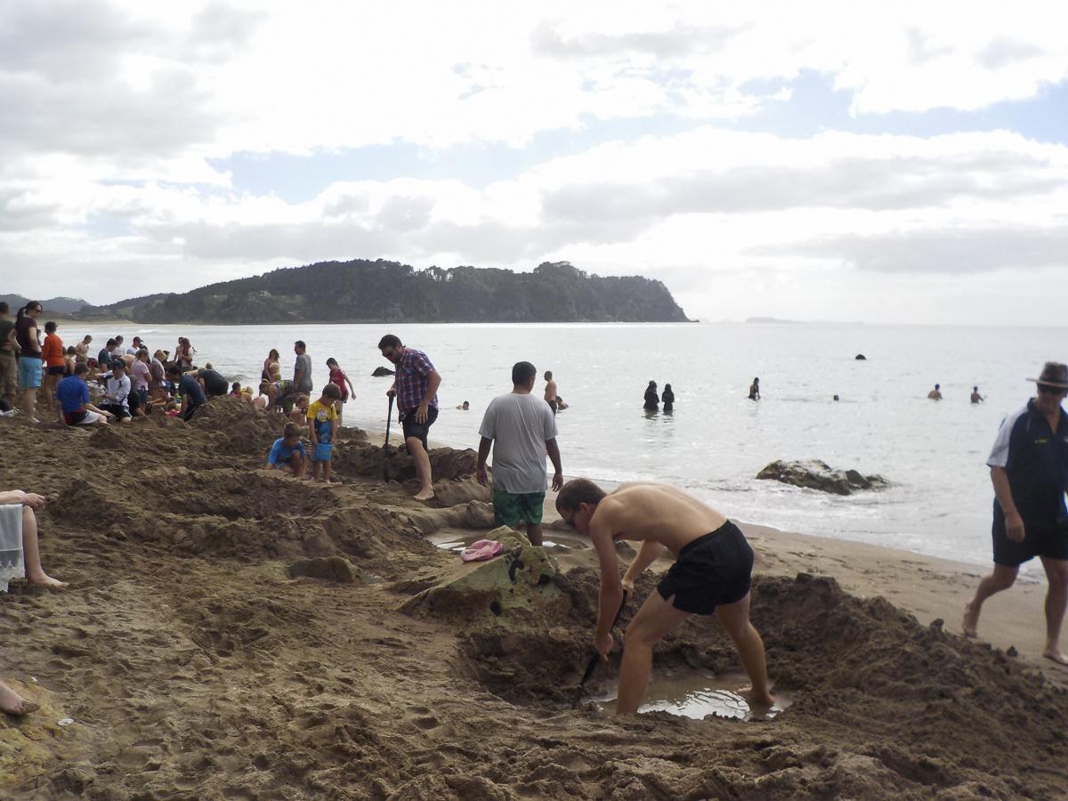 Coromandel Hot Water Beach