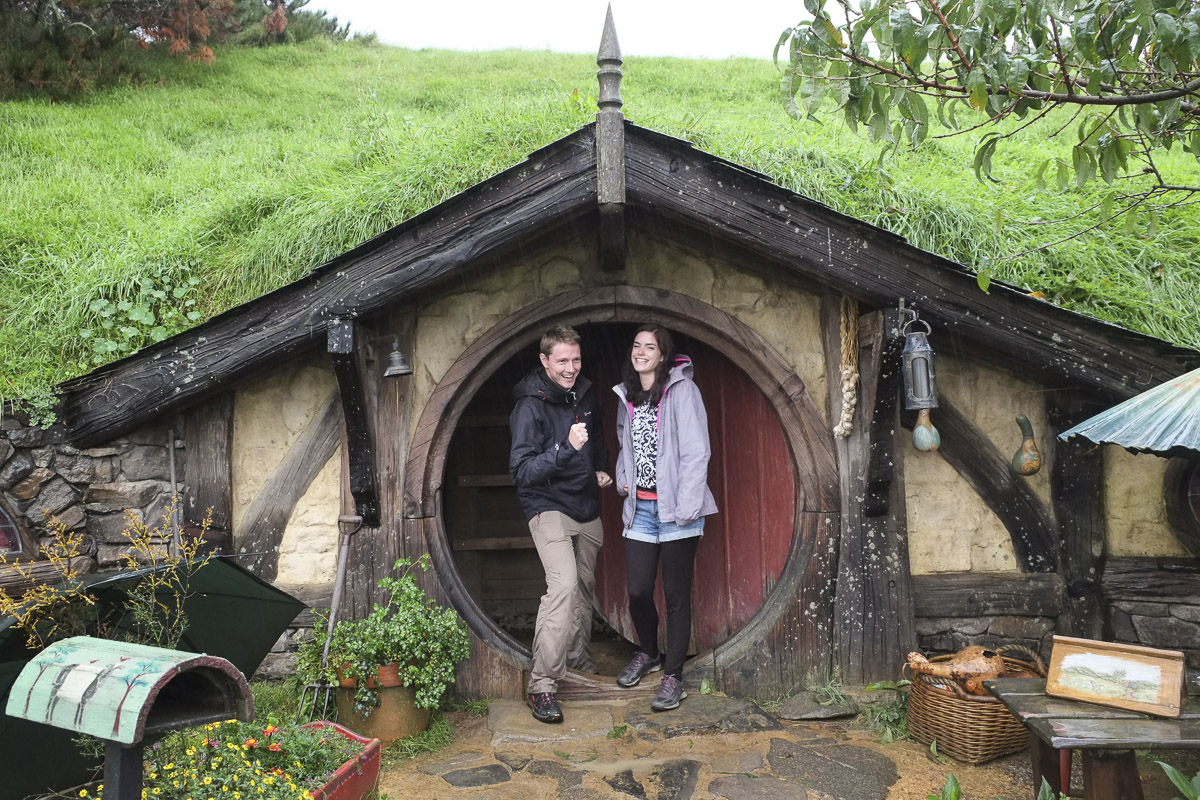 Hobbiton Tour Home