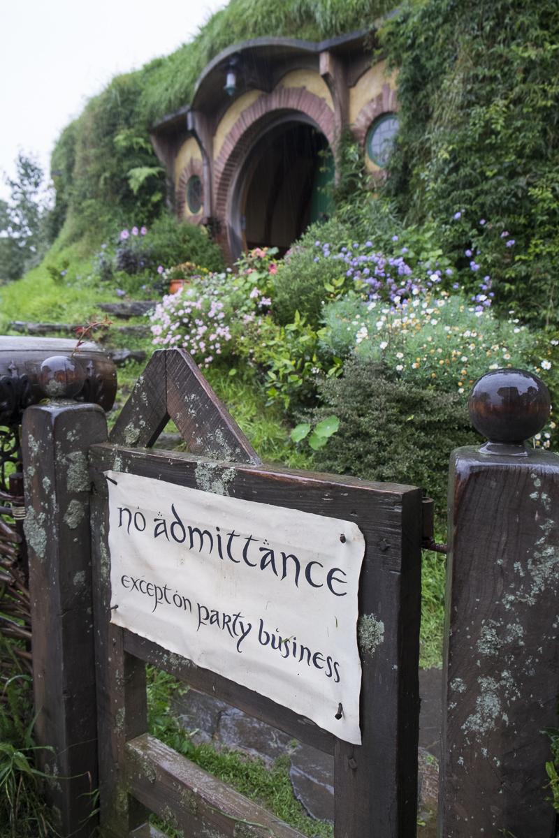 Hobbiton Bilbo's Home