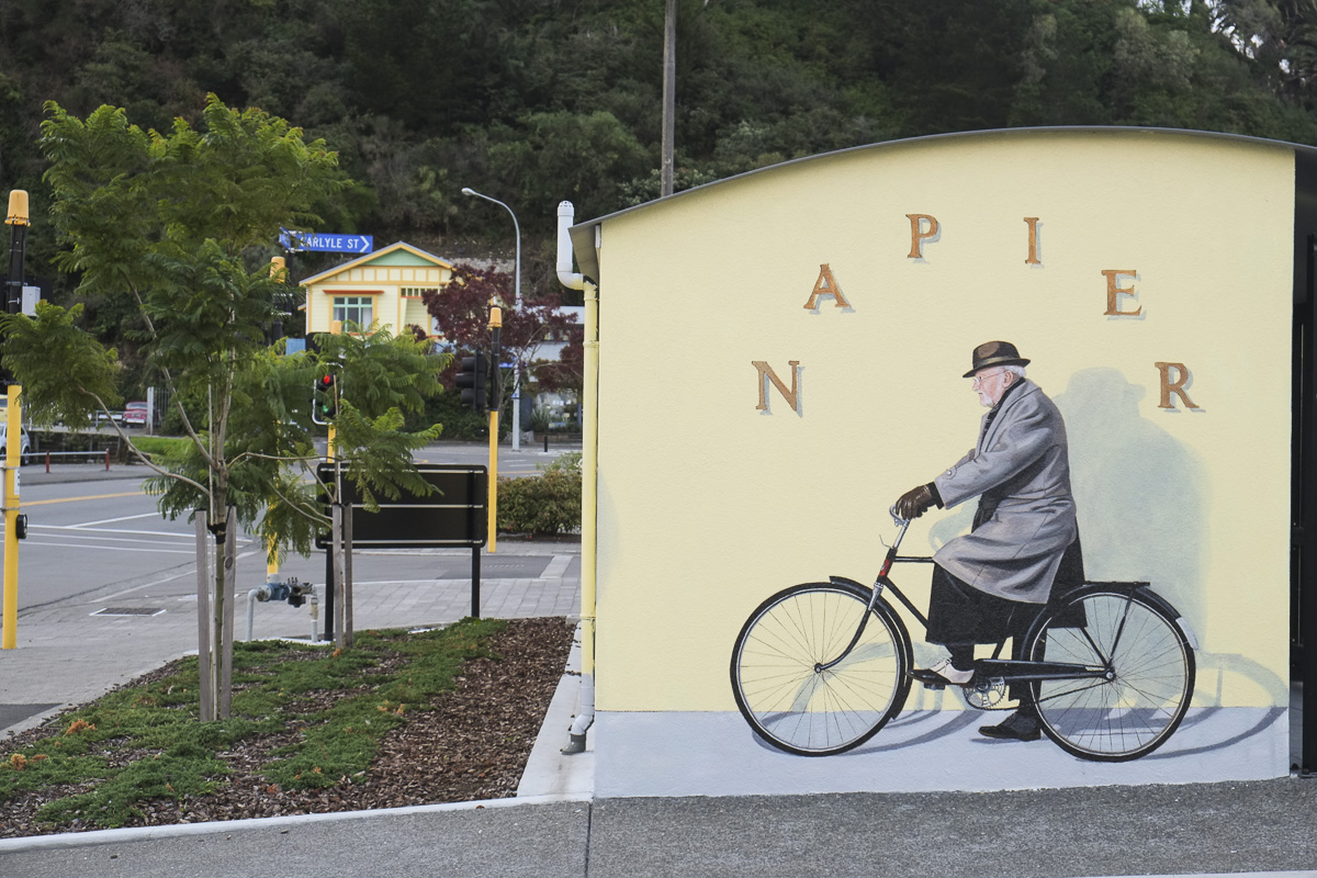 Napier New Zealand Street Art