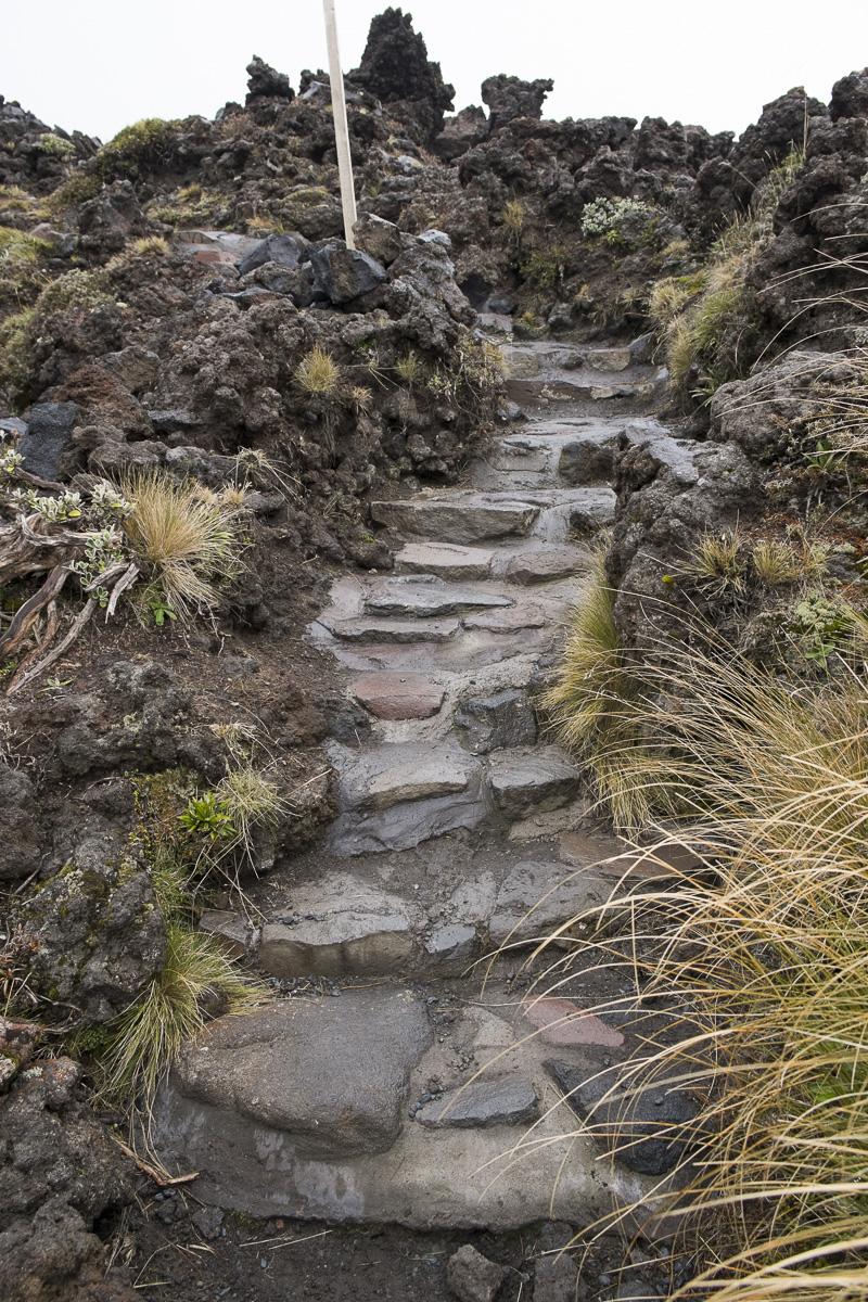 Tongariro Crossing Path