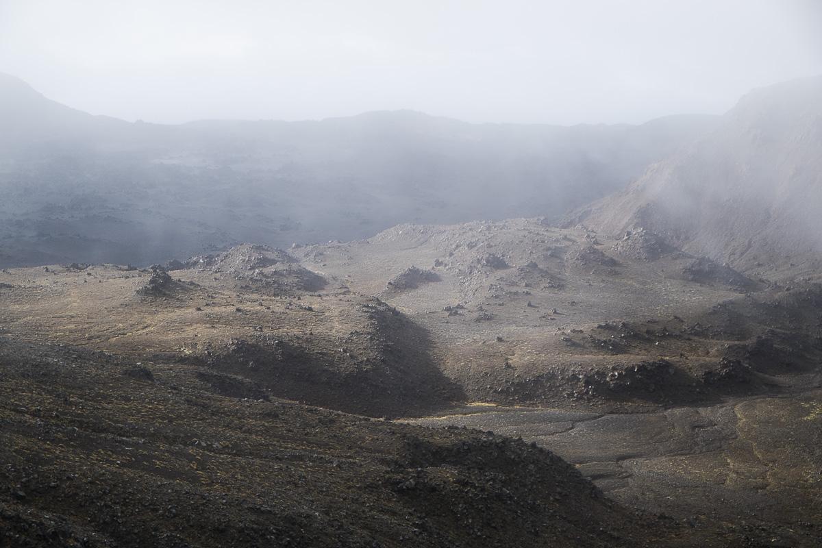 Tongariro Red Crater Scenery