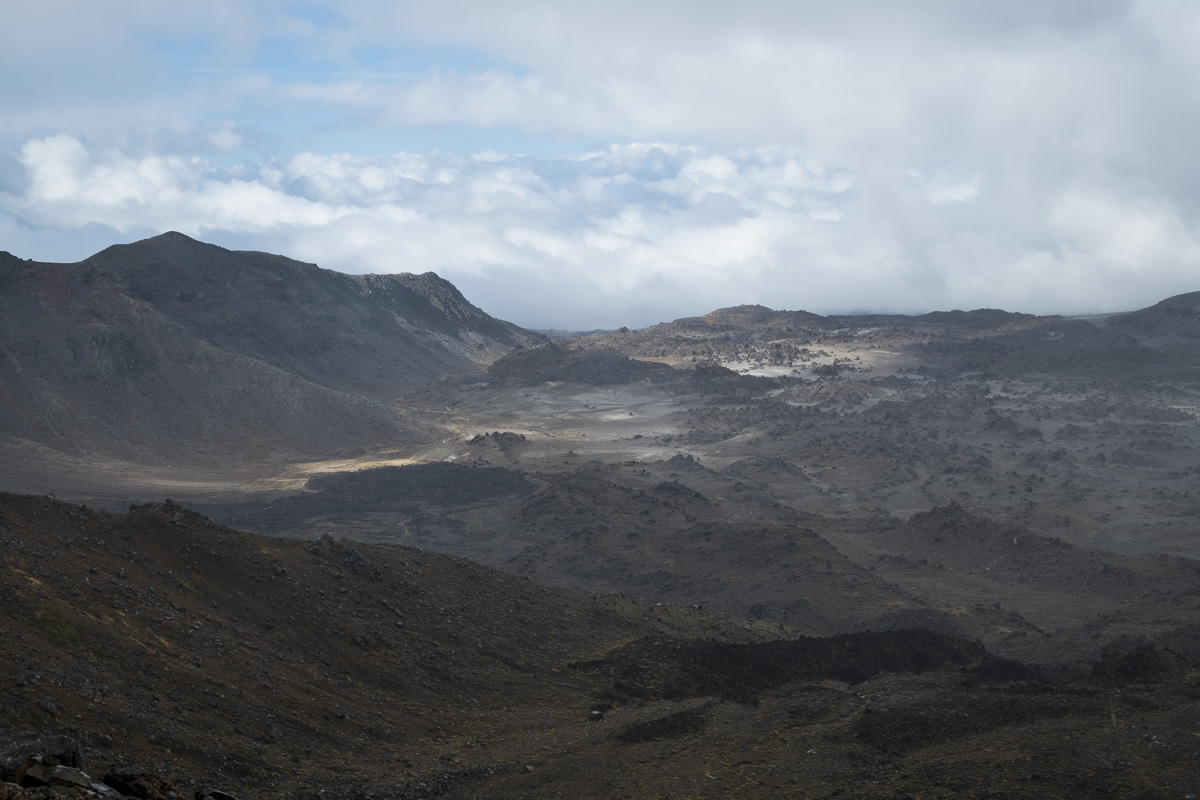 Taupo Tongariro Alpine Scenery
