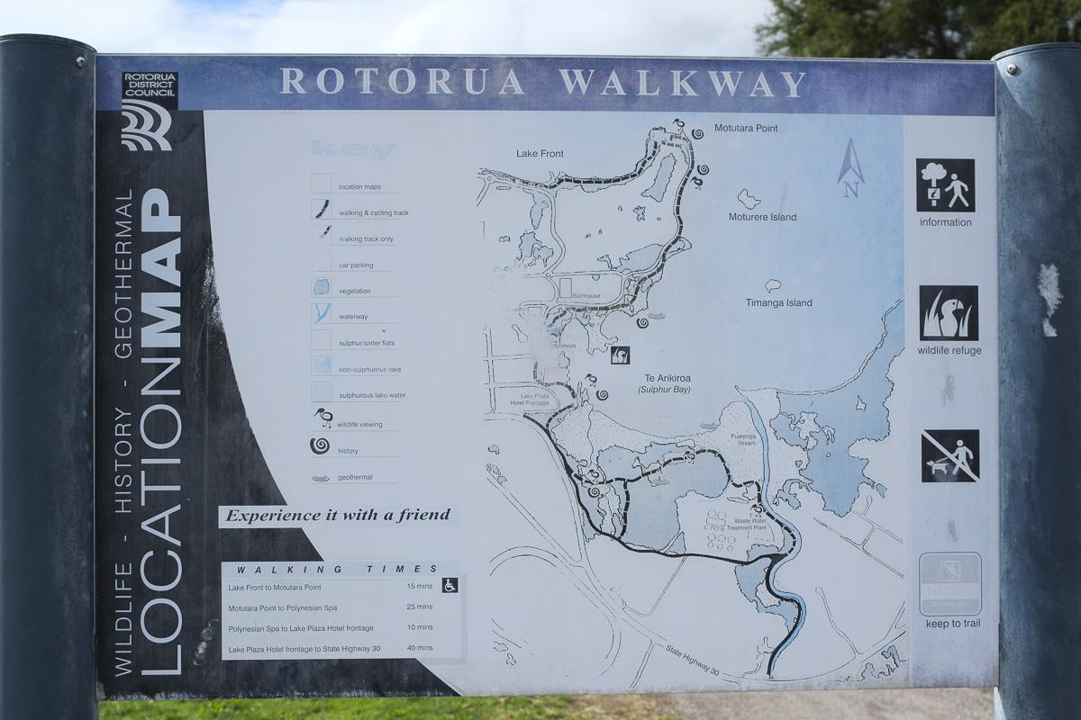 Rotorua Walk Map