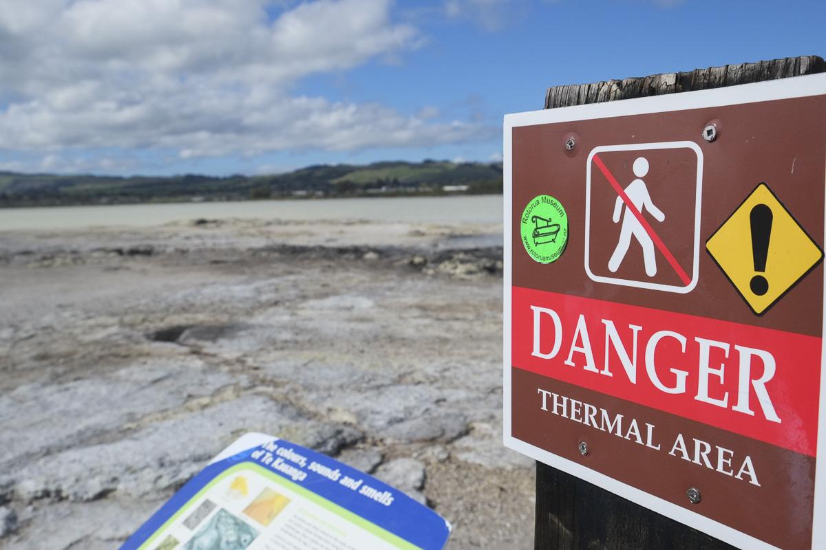 Rotorua Thermal Warning