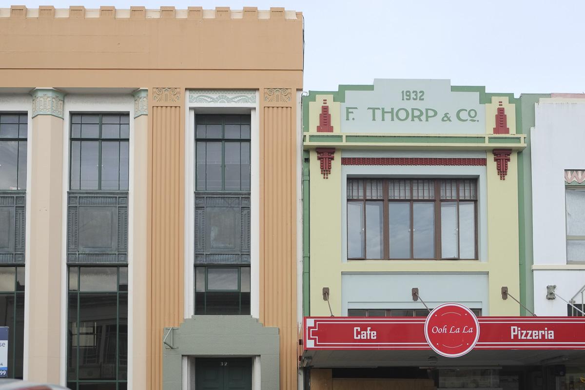 Napier New Zealand Art Deco