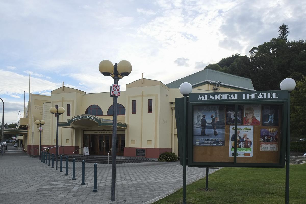 Napier New Zealand Art Deco Building